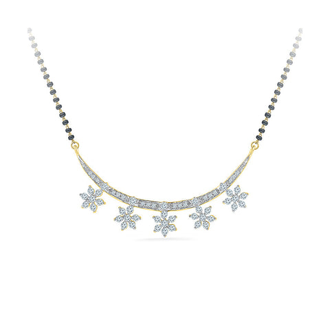 5 Star Diamond Mangalsutra