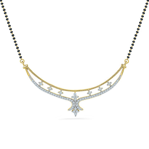 Holy Divine Diamond Mangalsutra