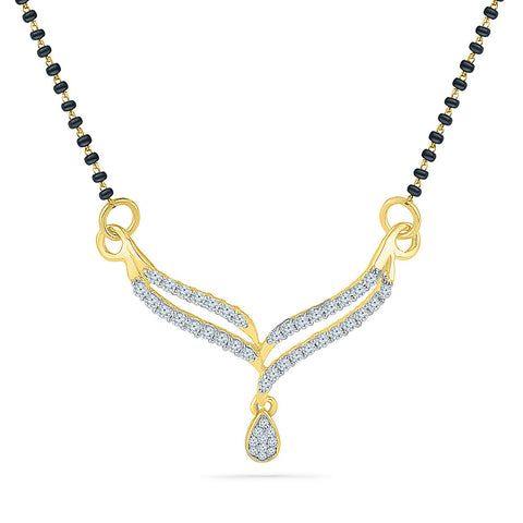 Drop of love Diamond Mangalsutra