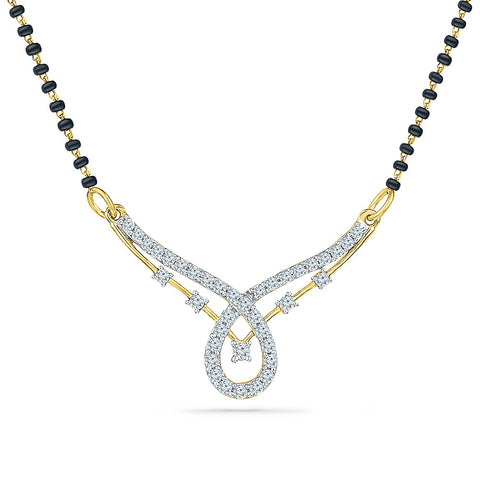 Luminous Diamond Mangalsutra