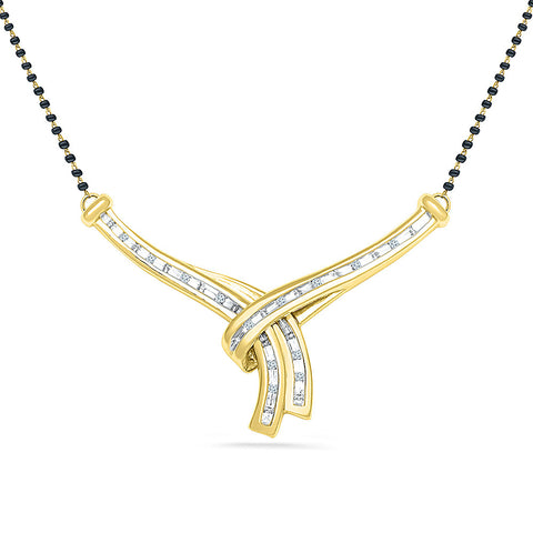Hold Me Diamond Mangalsutra