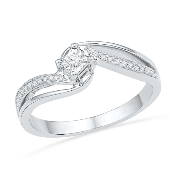 Legend of Love Diamond Engagement Ring