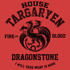 Fire and Blood (Black)