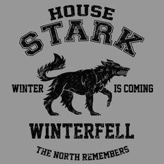 Winter is Coming (Black)