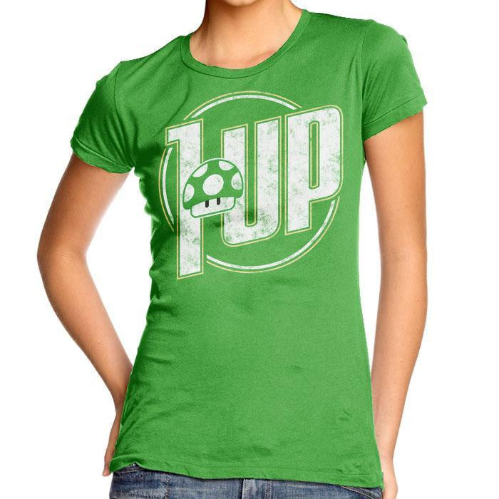 1 Up - Women's Fitted T-Shirt