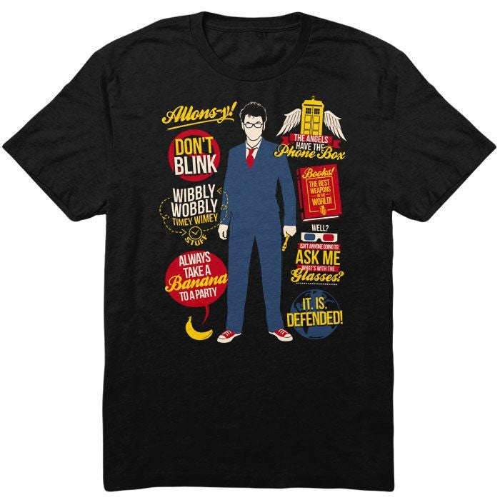 10th Doctor Quotes - Youth T-Shirt