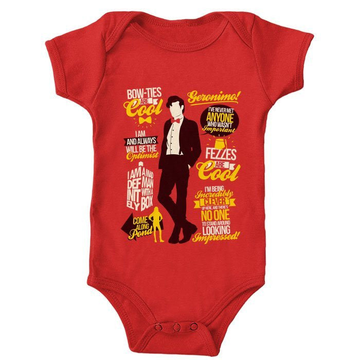 11th Doctor Quotes - Onesie