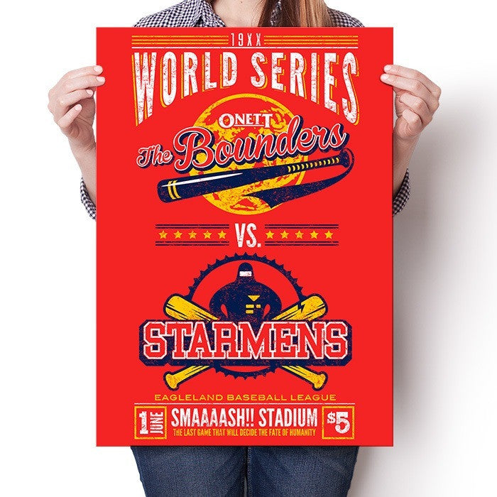 19XX World Series - Poster