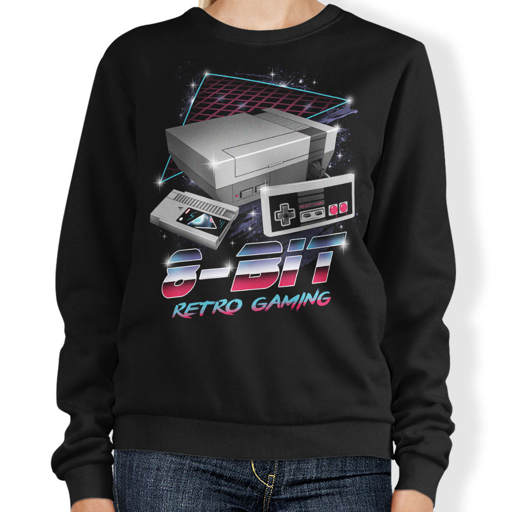 8-Bit Retro Gaming - Sweatshirt