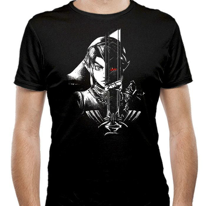 A Hero's Dark Reflection - Men's Fitted T-Shirt