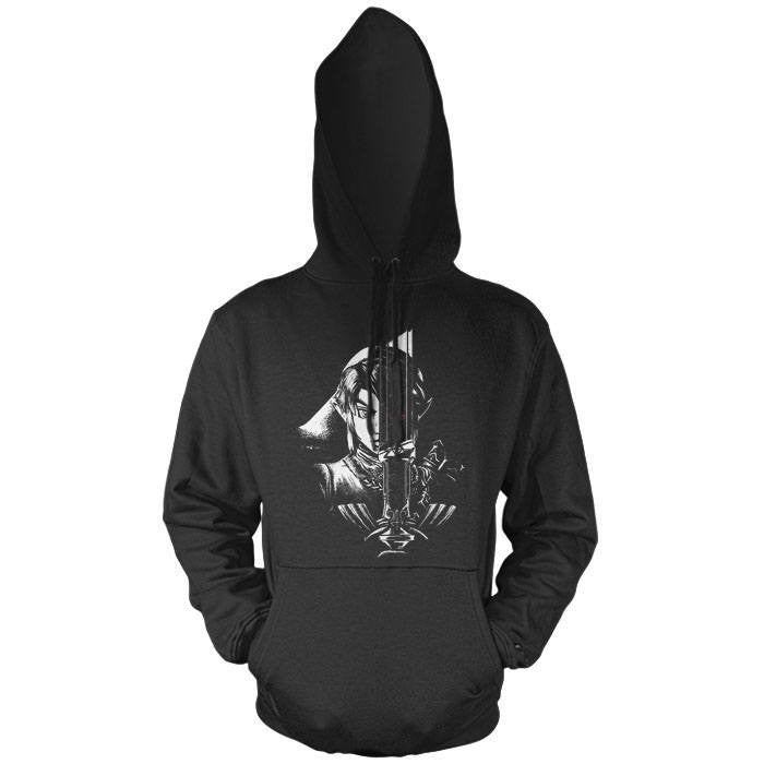 A Hero's Dark Reflection - Pullover Hoodie