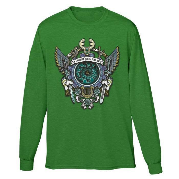 A Legend from the Sky - Long Sleeve T-Shirt (Unisex)