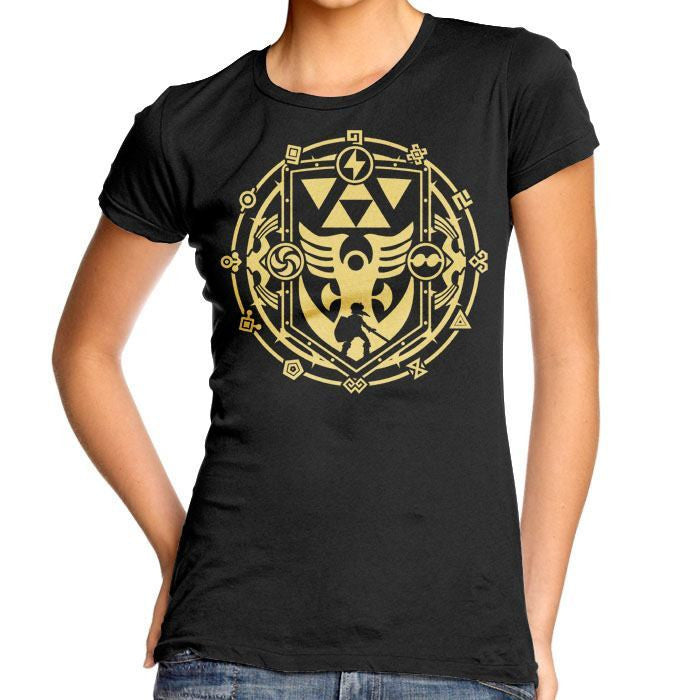A Link to the Dark - Women's Fitted T-Shirt