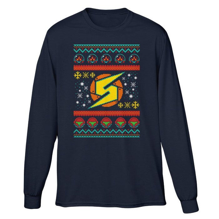 A Metroid Christmas - Long Sleeve T-Shirt (Unisex)