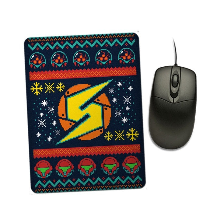 A Metroid Christmas - Mousepad