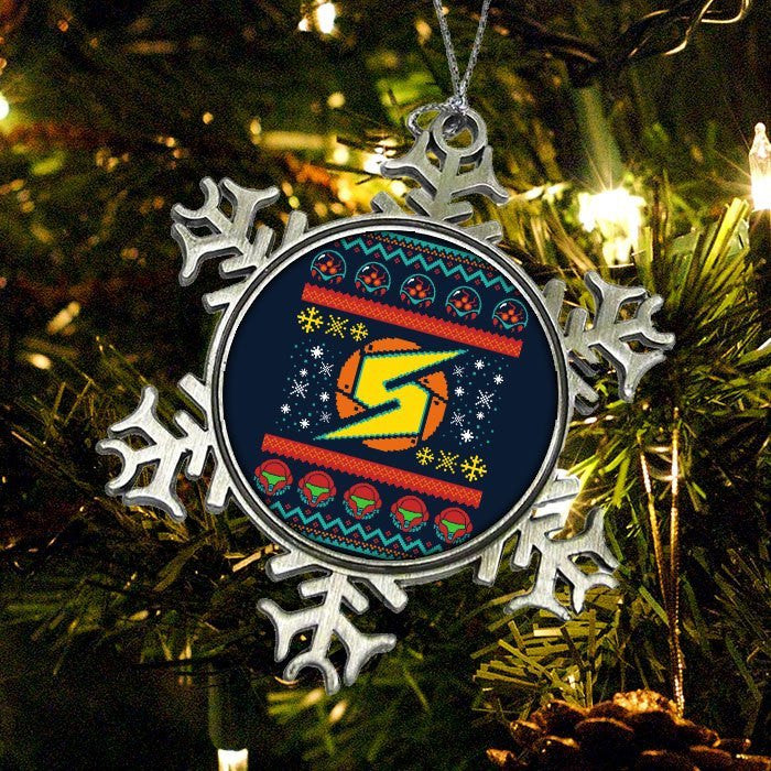 A Metroid Christmas - Ornament
