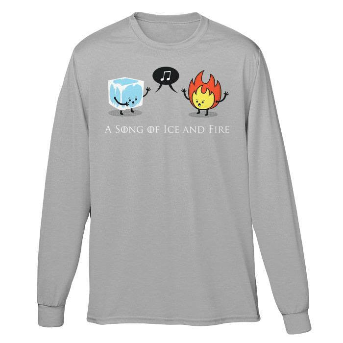 A Song of Ice and Fire - Long Sleeve T-Shirt (Unisex)