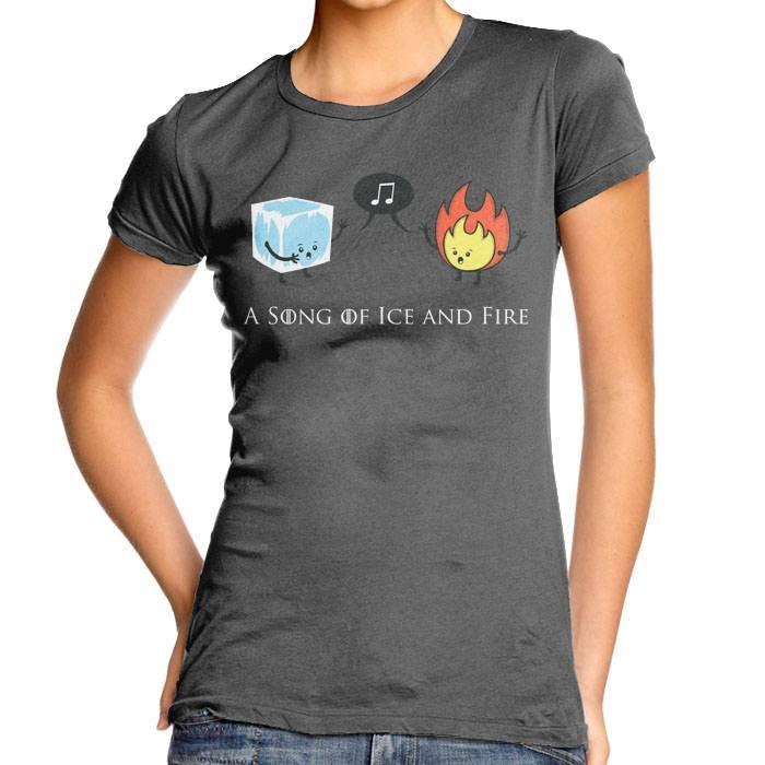 A Song of Ice and Fire - Women's Fitted T-Shirt