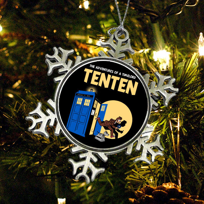 Adventures of Ten Ten - Ornament