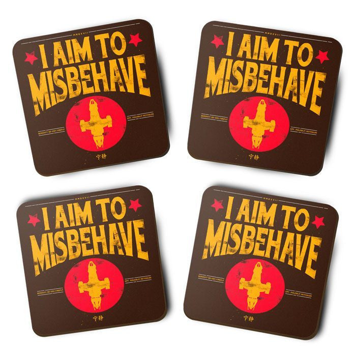 Aim to Misbehave - Coasters