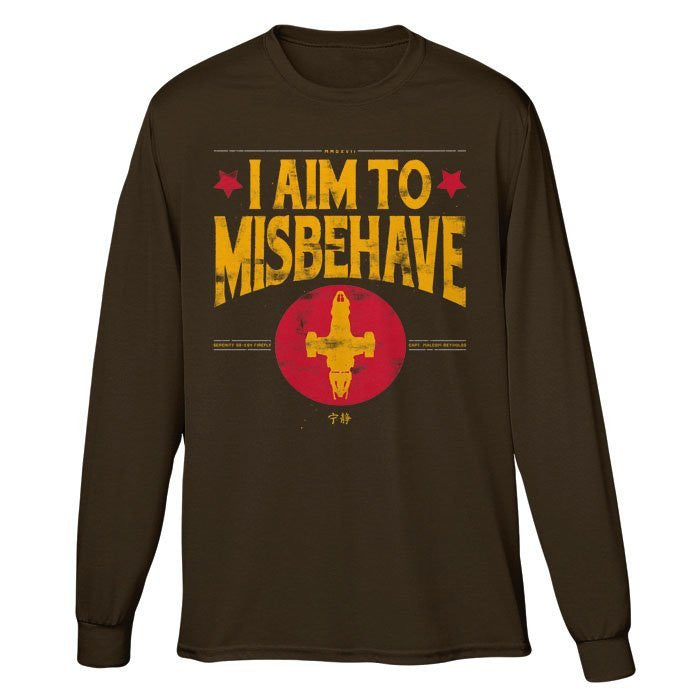 Aim to Misbehave - Long Sleeve T-Shirt (Unisex)