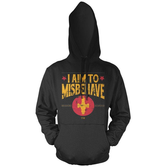 Aim to Misbehave - Pullover Hoodie