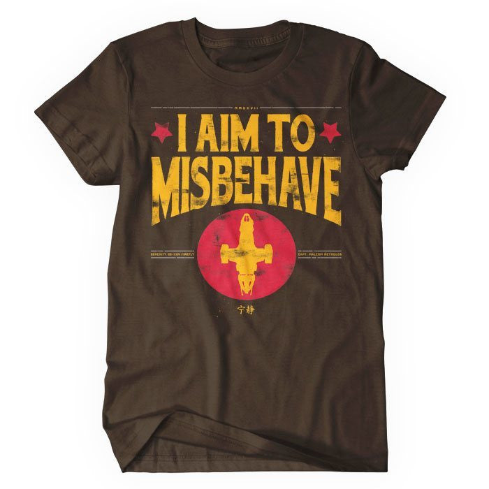 Aim to Misbehave - Women's T-Shirt