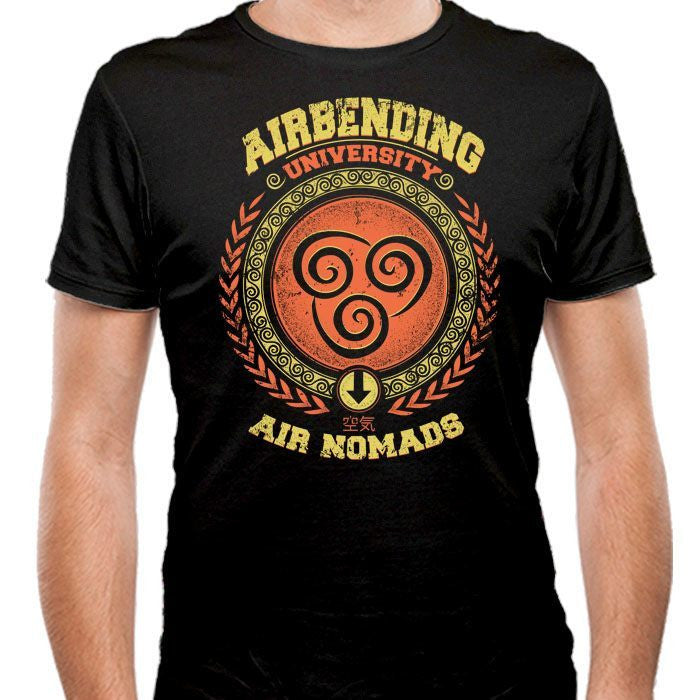 Airbending University - Men's Fitted T-Shirt