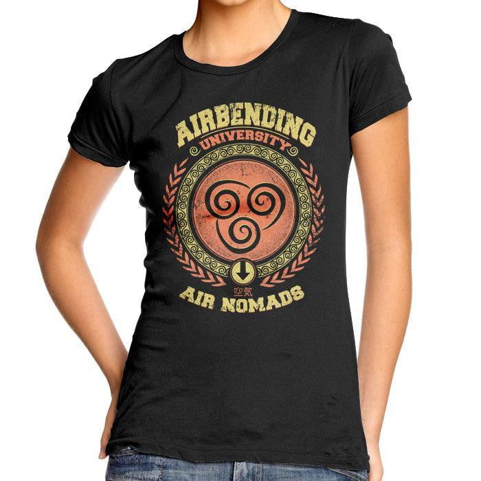 Airbending University - Women's Fitted T-Shirt
