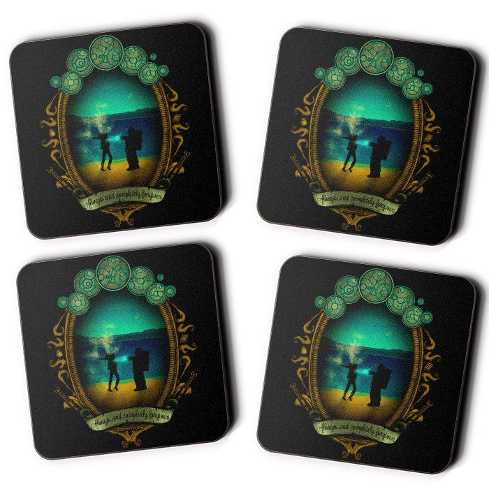 Always and Completely Forgiven - Coasters