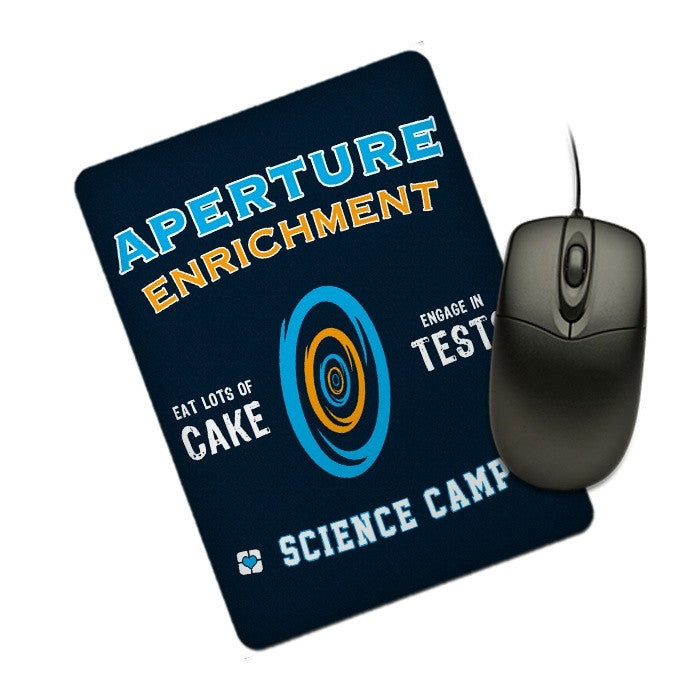 Aperture Science Camp - Mousepad