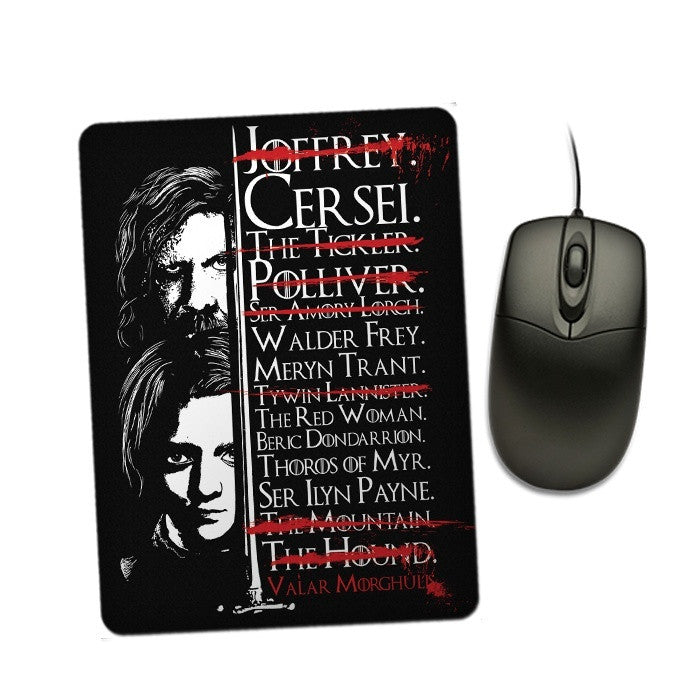 Arya's Prayer - Mousepad