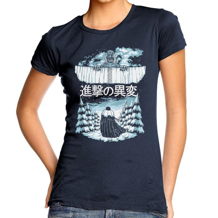 Attack of the Others - Women's Fitted T-Shirt