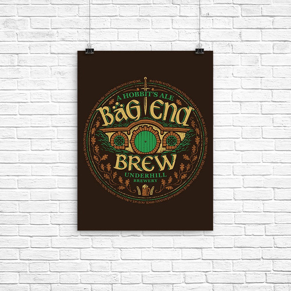 Bag End Brew - Poster