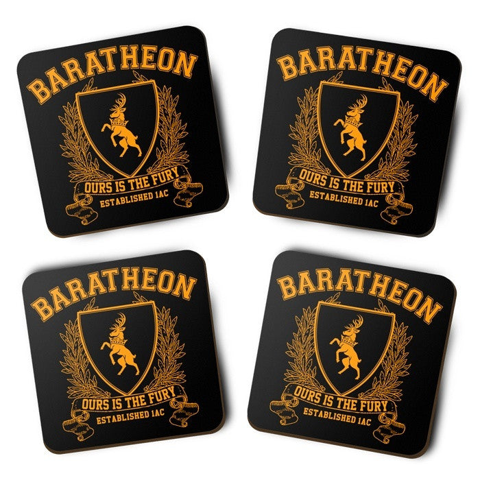 Baratheon University - Coasters