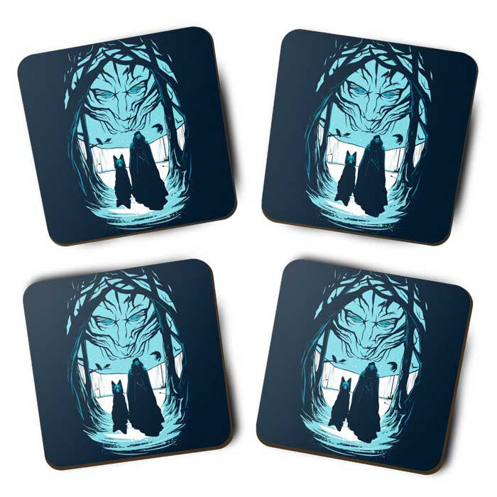 Beyond the Wall - Coasters