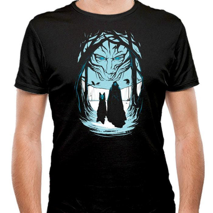 Beyond the Wall - Men's Fitted T-Shirt