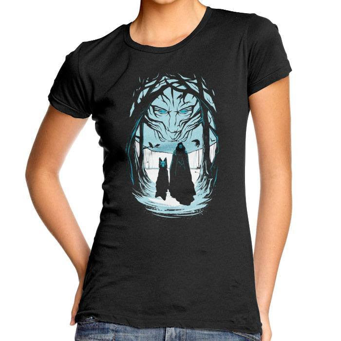 Beyond the Wall - Women's Fitted T-Shirt