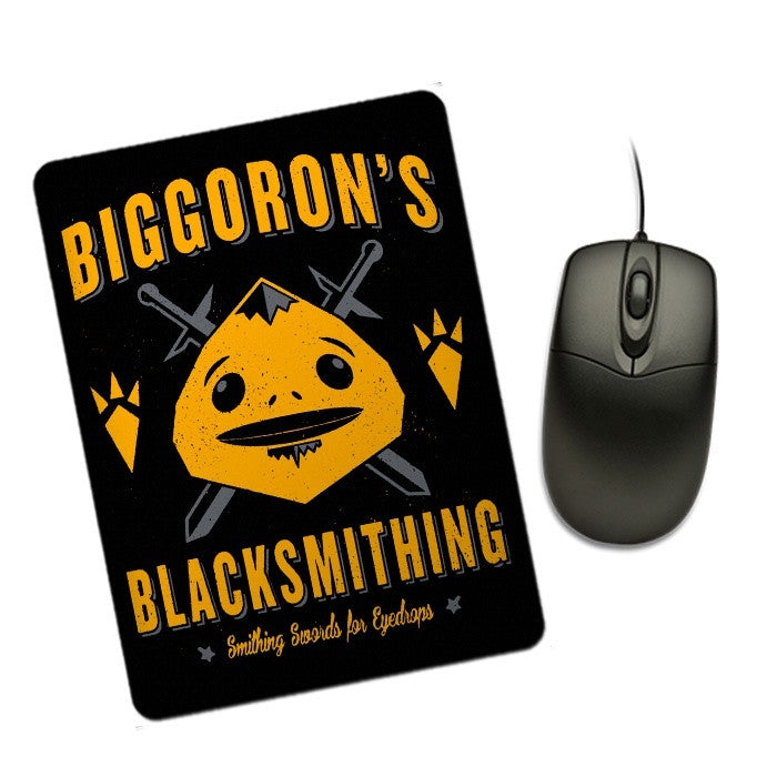 Big Goron's Blacksmithing - Mousepad