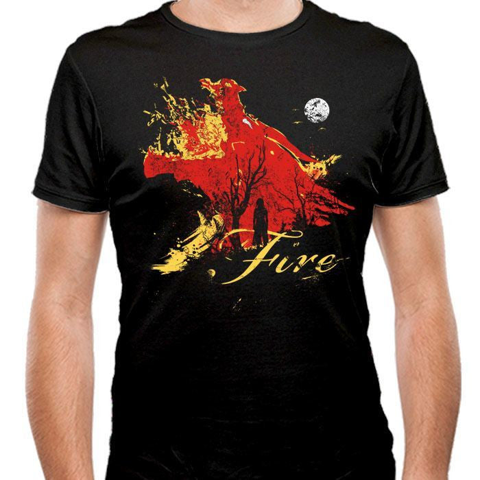 Born of Fire - Men's Fitted T-Shirt