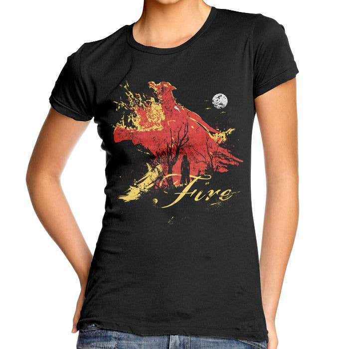 Born of Fire - Women's Fitted T-Shirt