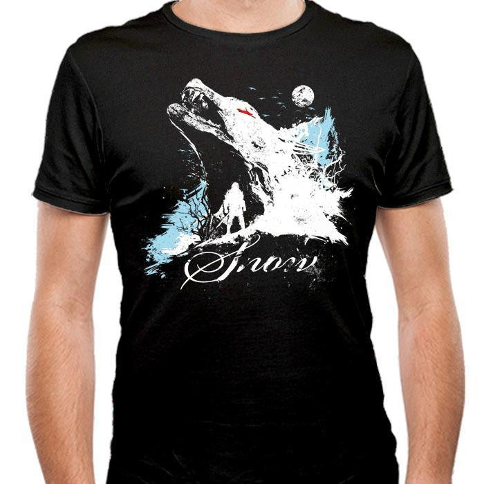 Born of Snow - Men's Fitted T-Shirt