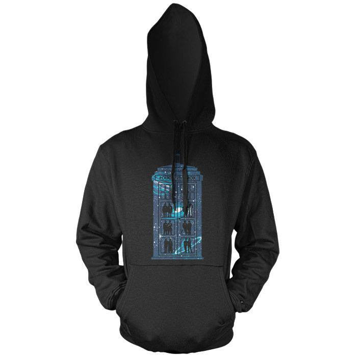 Box of Time and Space - Pullover Hoodie