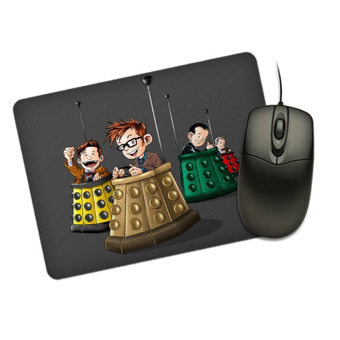 Bump the Doctors - Mousepad