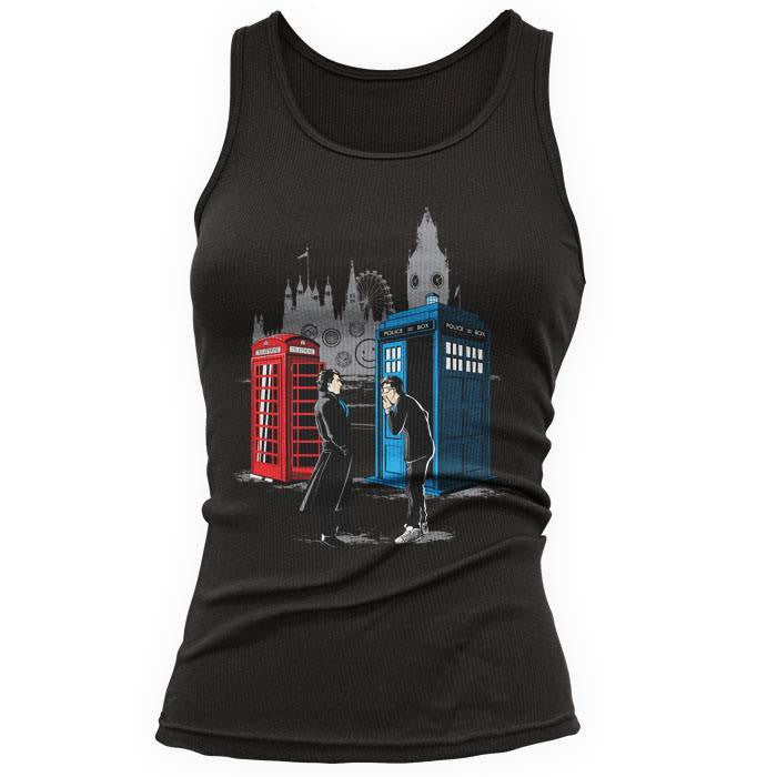 Cabins Collide - Women's Tank Top