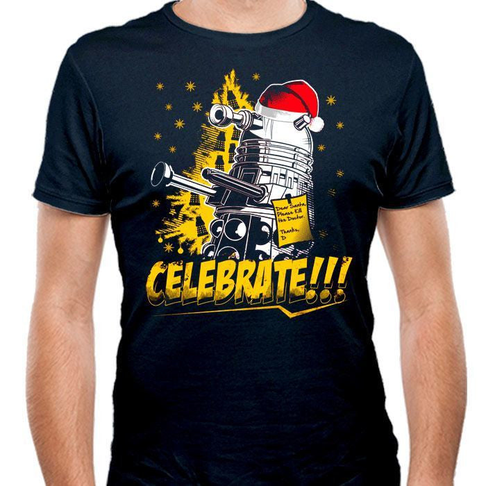 Celebrate - Men's Fitted T-Shirt