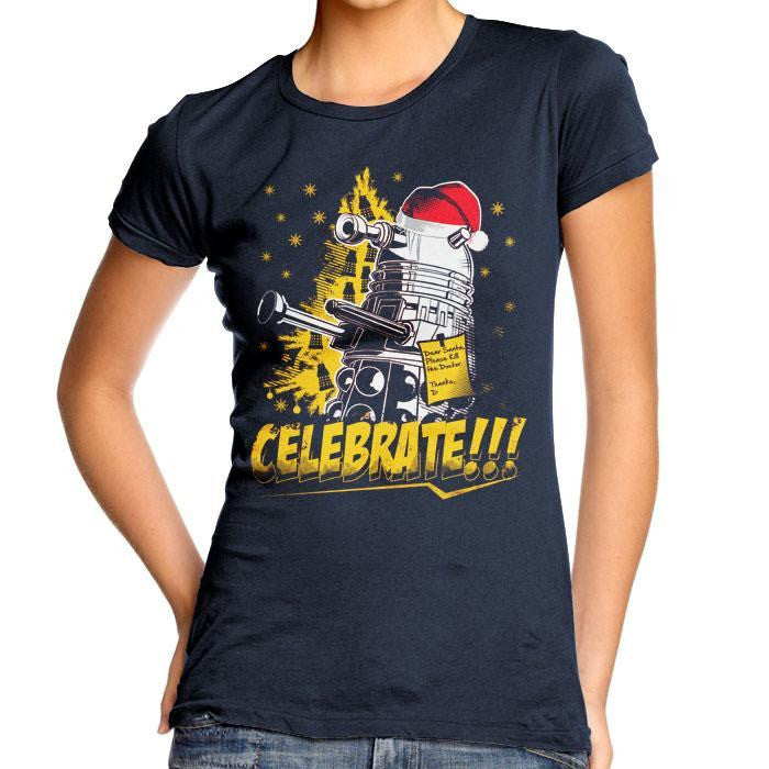 Celebrate - Women's Fitted T-Shirt