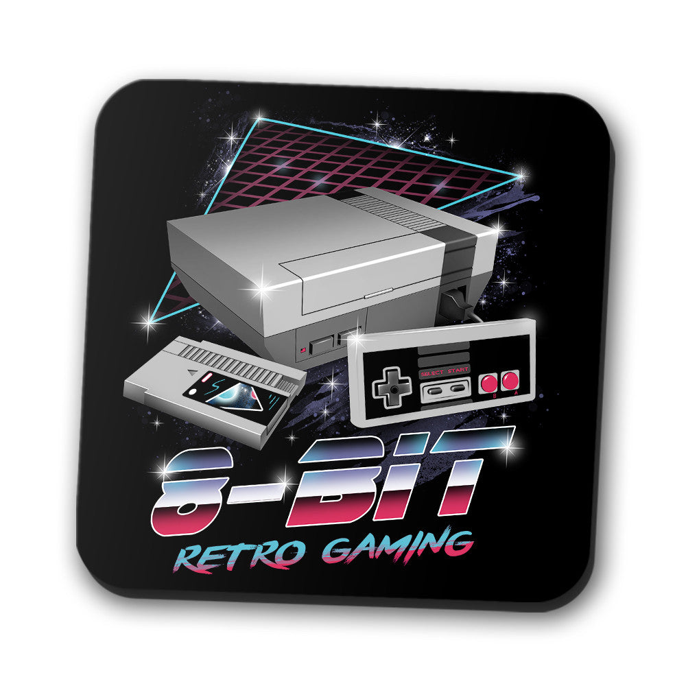 8-Bit Retro Gaming - Coasters