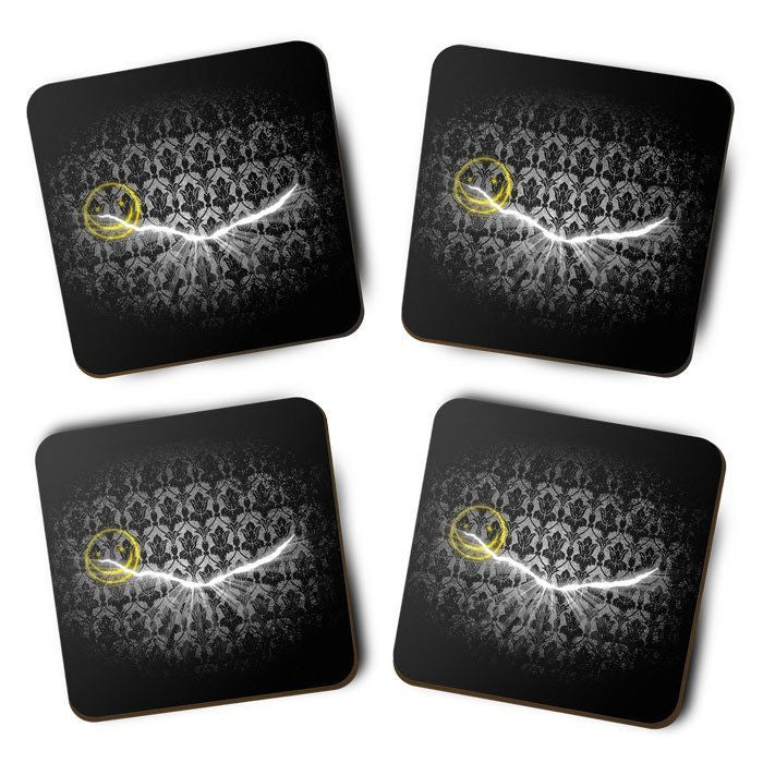 Crack in the Wall - Coasters