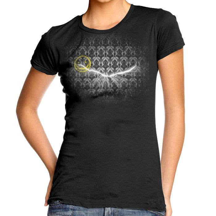 Crack in the Wall - Women's Fitted T-Shirt